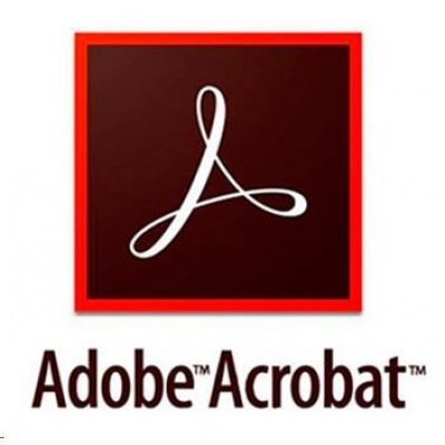 Acrobat Pro DC MP Multi Euro Lang TM LIC SUB New 1 User Lvl 1 1-9 Month
