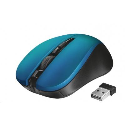 TRUST myš Mydo Silent Click Wireless Mouse - blue
