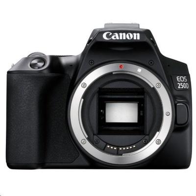 Canon EOS 250D zrcadlovka + 18-55 + 75-300