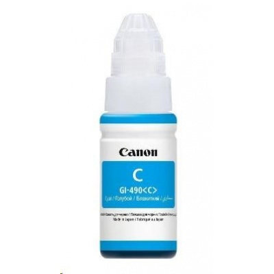 Canon BJ INK GI-590 C (Cyan Ink Bottle) 70ml  7000str