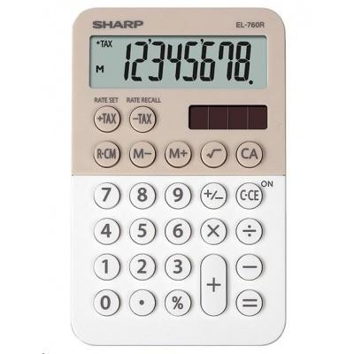 SHARP kalkulačka - EL760RBLA - Stolní kalkulátor