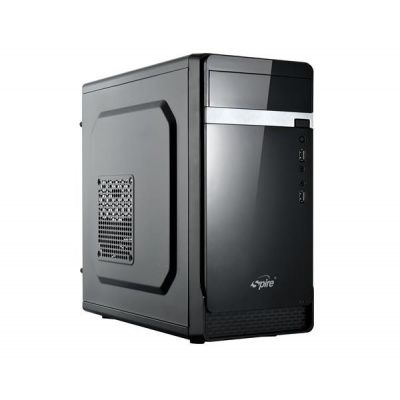 SPIRE skříň TRICER 1412, 420W, micro ATX, USB 3.0, black