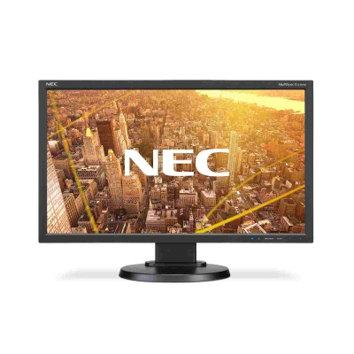 "NEC MT 23"" LCD MuSy E233WMi Black IPS W-LED,1920x1080, 250cd, 1000:1, 6ms, DP+DVI+VGA, audio"