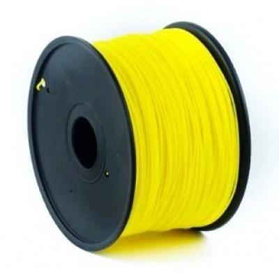 GEMBIRD Tisková struna (filament) ABS, 1,75mm, 1kg, žlutá