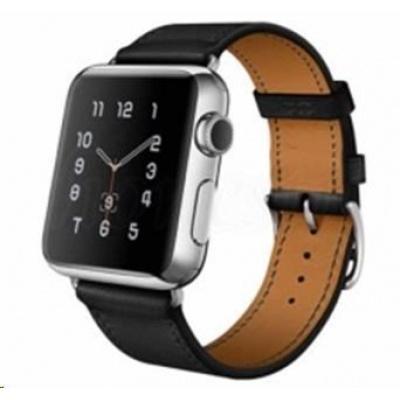 eses kožený řemínek 42mm černý pro apple watch