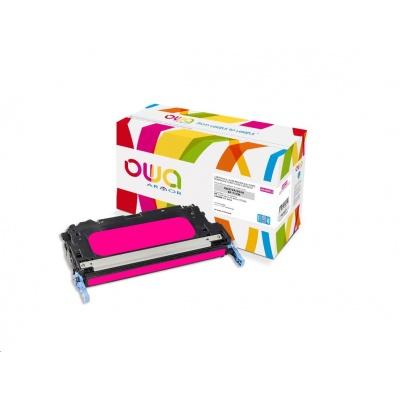 OWA Armor toner pro HP Color Laserjet 3600 CP3505, 8000 Stran, Q6473A JUMBO, červená/magenta