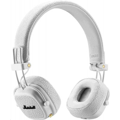 Marshall Major-III Bluetooth sluchátka, velká, bílá