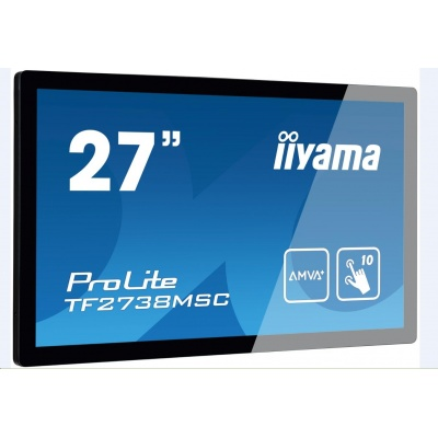 Iiyama dotykový monitor ProLite TF2738MSC-B1, 68,6 cm (27''), CAP 10-touch, Full HD, black