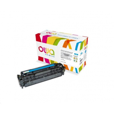 OWA Armor toner pro HP Color Laserjet CP2020, CP2025, CM2320, CM2720, 2800 Stran, CC531A, modrá/cyan