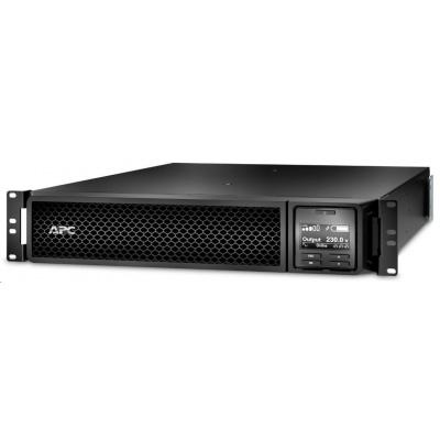 APC Smart-UPS SRT 2200VA RM 230V, On-Line, 2U, Rack Mount (1980W) Network Card (AP9631)