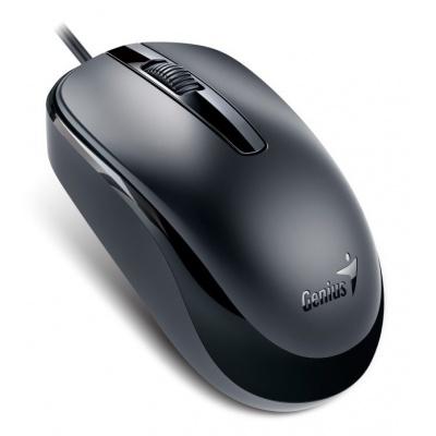 GENIUS myš DX-120, drátová, 1200 dpi, USB, černá