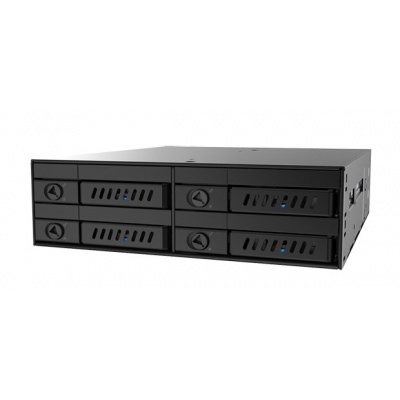 "CHIEFTEC SATA Backplane CMR-425, 1x 5,25"" bay for 4x 2,5"" HDDs/SDDs"
