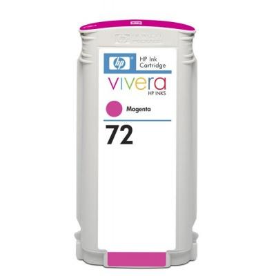 HP 72 Magenta DJ Ink Cart, 130 ml, C9372A