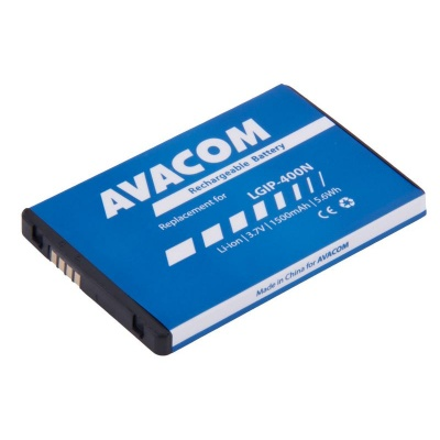 AVACOM baterie do mobilu LG P500 Optimus One Li-Ion 3,7V 1500mAh (náhrada LGIP-400N)