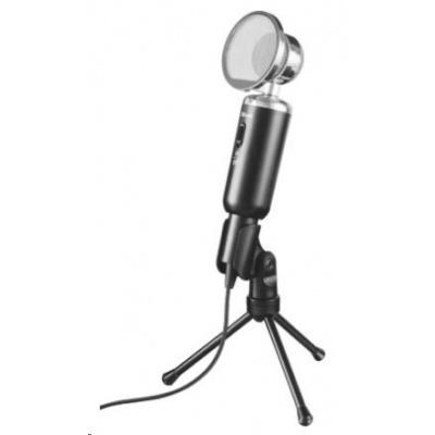 TRUST Mikrofon Madell v retro klasickém stylu