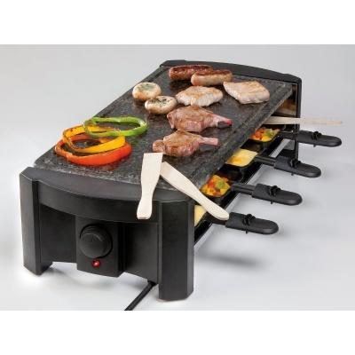 DOMO DO9039G Raclette gril, kámen, 8 osob, kámen obdélník
