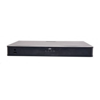 Uniview NVR, 8 kanálů, H.265, 2x HDD, 8Mpix (48Mbps/48Mbps), HDMI, VGA, 3x USB 2.0, audio