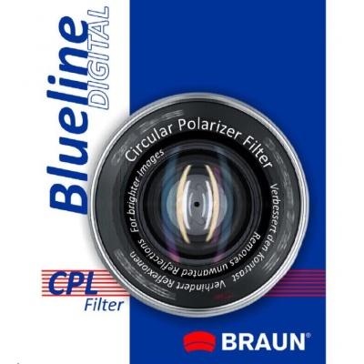 Braun filtr C-PL BlueLine 58 mm