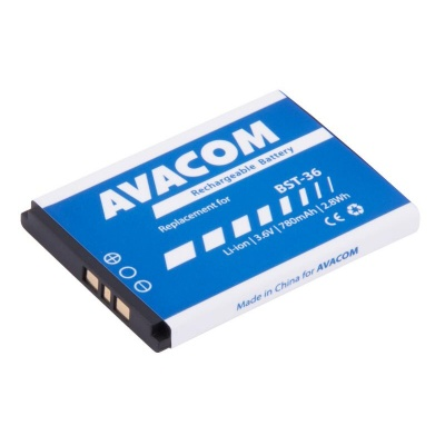 AVACOM baterie do mobilu Sony Ericsson J300, W200 Li-Ion 3,7V 780mAh (náhrada BST-36)