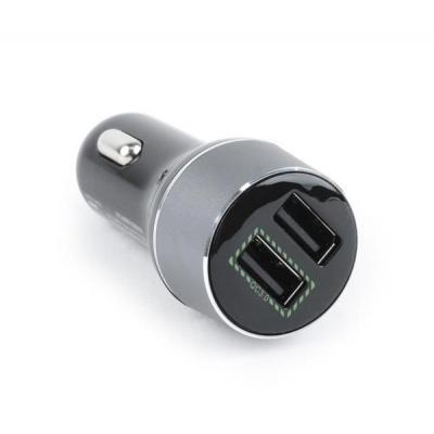 GEMBIRD autonabíječka, 2x USB, 2100mA, QUICK CHARGE