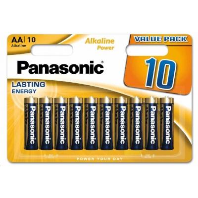 PANASONIC Alkalické baterie Alkaline Power LR6APB/10BW AA 1,5V (Blistr 10ks)