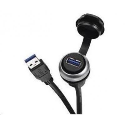 CONRAD USB vestavný adaptér Lütze 490113.0150, IP20/IP65, Typ A, 0.6 m