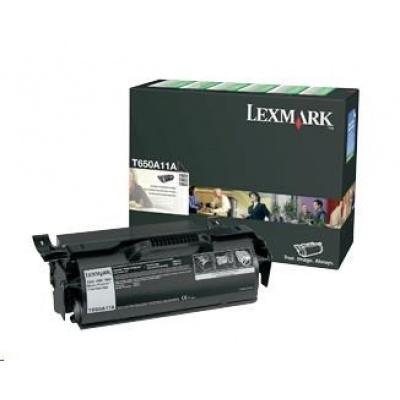 LEXMARK černý toner pro T650, T652, T654, T656 (7 000 stran)