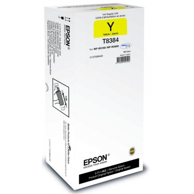 EPSON Ink bar Recharge XL for A4 – 20.000str. Yellow 167,4 ml