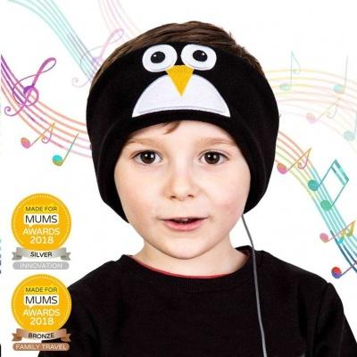 Snuggly Rascals - dětská sluchátka Penguin (v.2)