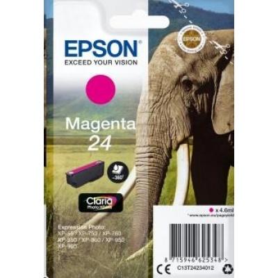 "EPSON ink bar Singlepack ""Slon"" Magenta 24 Claria Photo HD Ink"