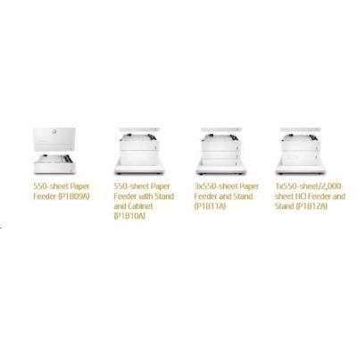 HP Color LaserJet 550 Sht Pper Try Stand - Skříňka tiskárny + zás. na 1x550 listů pro CLJ M681, M652, M653, E67660
