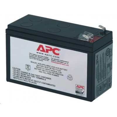 APC Replacement Battery Cartridge #2, BK250(400), BP280(420), SUVS420I, BK300, BK350, BK500, BE550, BH500INET
