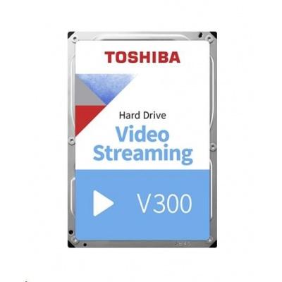 "TOSHIBA HDD V300 Video Streaming 3TB, SATA III, 5940 rpm, 64MB cache, 3,5"", BULK"