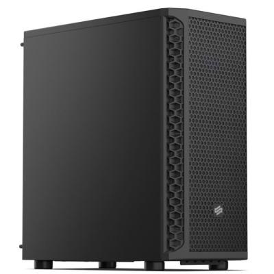 SilentiumPC skříň MidT Signum SG1 / 2x USB 3.0 / 1x 120mm fan / perforované čelo / černá