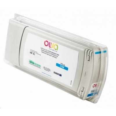 OWA Armor cartridge pro HP DesignJet Z 6100, 775ml, C9467A, Cyan