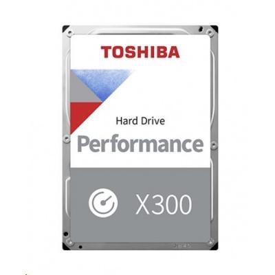 "TOSHIBA HDD X300 14TB, SATA III, 7200 rpm, 256MB cache, 3,5"", RETAIL"