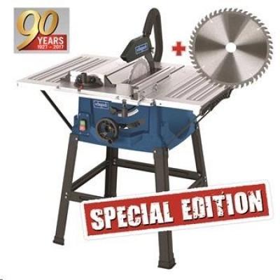 Scheppach HS 100 S SPECIAL EDITION stolová pila + kotouč pro jemné řezy