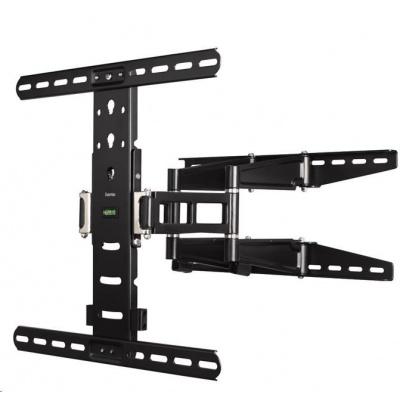 Hama nástěnný držák TV, pohyblivý, 400x400, 5*, černá