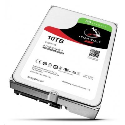 "SEAGATE HDD IRONWOLF (NAS) 3.5"" - 10TB, SATAIII, ST10000VN0004"