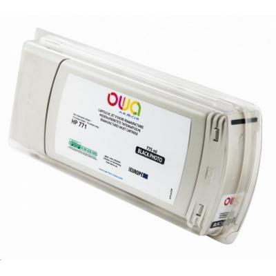 OWA Armor cartridge pro HP DesignJet Z 6200, 6600, 6800, 775ml, B6Y13A, Black Photo