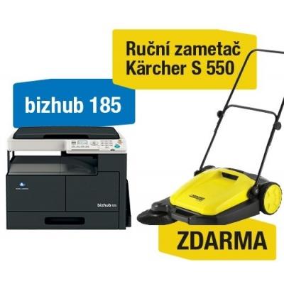 Minolta kopírka bizhub 185 (A3,16 ppm,USB2.0,GDI) + Kärcher Zametač S550