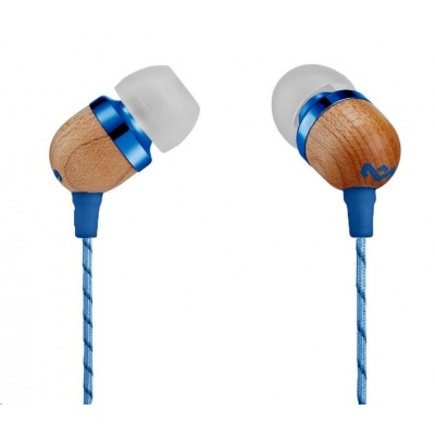 MARLEY Smile Jamaica - Denim, sluchátka do uší s ovladačem a mikrofonem