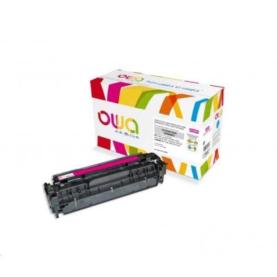 OWA Armor toner pro HP Color Laserjet CP2020, CP2025, CM2320, CM2720, 2800 Stran, CC533A, červená/magenta