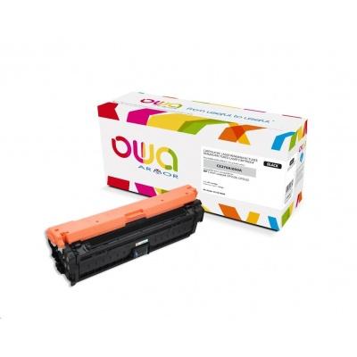 OWA Armor toner pro HP Color Laserjet Ese CP5520, 5525, 13500 Stran, CE270A, černá/black
