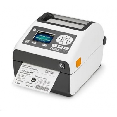 Zebra DT tiskárna etiket ZD620 Healthcare LCD 203 dpi, USB, USB Host, Serial, LAN, 802.11, BT ROW
