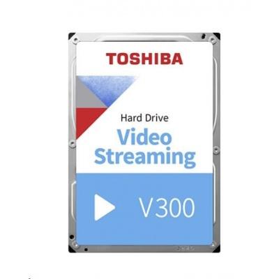 "TOSHIBA HDD V300 Video Streaming 2TB, SATA III, 5700 rpm, 64MB cache, 3,5"", BULK"