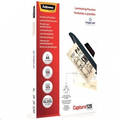Laminovací fólie Fellowes A4 125 mic ImageLast, balení 100 ks