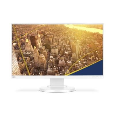 """NEC MT 24"""" E241N White LCD W-LED IPS, 1920x1080/60Hz, 6ms, 1000:1, 250cd, audio, HDMI+DP+VGA, 16:9, FullHD, repro"""
