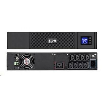 Eaton 5SC 2200i RT2U, UPS 2200VA / 1980W, 8 zásuvek IEC, LCD, rack/tower