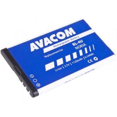 AVACOM baterie do mobilu Nokia 5530, CK300, E66, 5530, E75, 5730, Li-Ion 3,7V 1120mAh (náhrada BL-4U)
